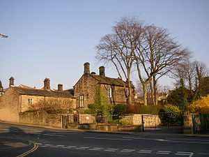 English: NHS Care Home, Park Road, Bingley Con...