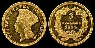 Three-dollar piece