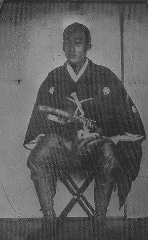 Nabeshima Naohiro (Saga) - Nabeshima Naohiro shortly before the Meiji Restoration