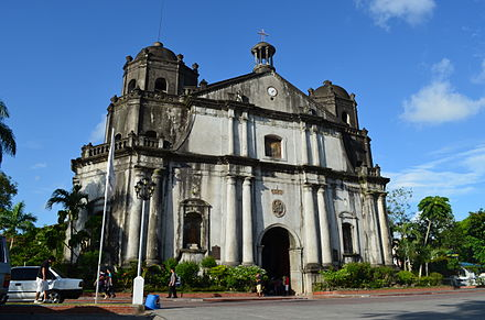Naga Metropolitan Cathedral is the seat of the Archdiocese of Caceres in Naga City - Philippines