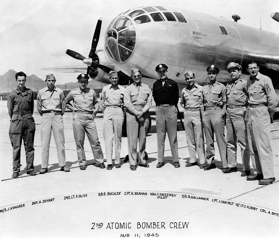Nagasaki mission crew