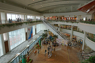 Naha Airport - Interior of the terminal building