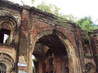 Namak Haram Deorhi building in India