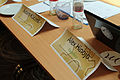 Name plates at the Program Evaluation & Design Workshop in Budapest - Stierch.jpg