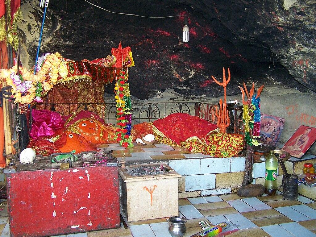 Hinglaj goddess at Hinglaj Mata Mandir