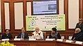 Narendra Modi addressing at the launch of the National Programme for LED Street Lighting and LED Home Lighting, in New Delhi. The Lt. Governor Delhi, Shri Najeeb Jung.jpg