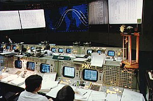 Eidophor - Eidophor projectors in use at NASA's Mission Operation Control Room