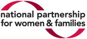 National Partnership for Women & Families - Image: National Partnership for Women & Families Logo