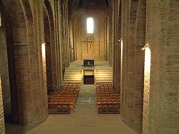 Nave de la iglesia de Sant Vicenç