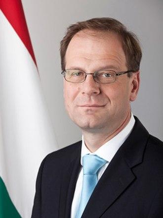 Second Orbán Government - Image: Navracsics Tibor Portrait