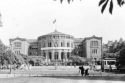Nazi-occupied Parliament of Norway 1941.jpg