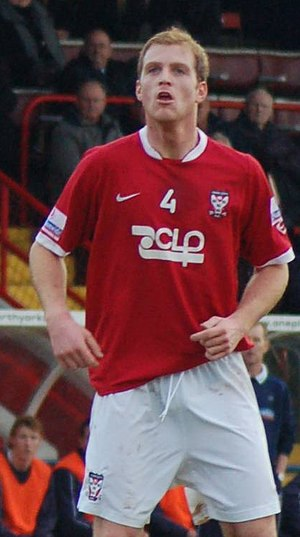 Neal Bishop - Bishop playing for York City in 2007
