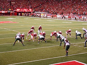 2014 Nebraska Cornhuskers football team - Nebraska with the ball on their final touchdown drive.