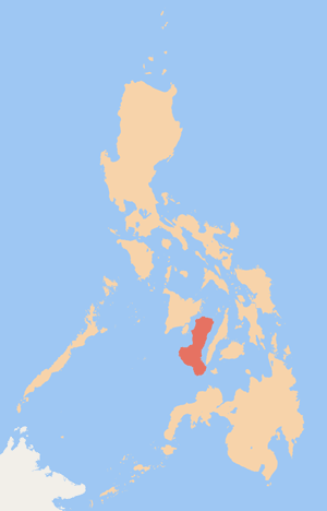 Republic of Negros - Location of the Republic of Negros in the Philippines