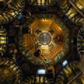 Neobyzantinisches Kuppelmosaik im Kaiserdom zu Aachen.jpg