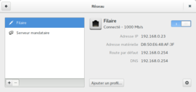 NetworkManager sous GNOME 3.12