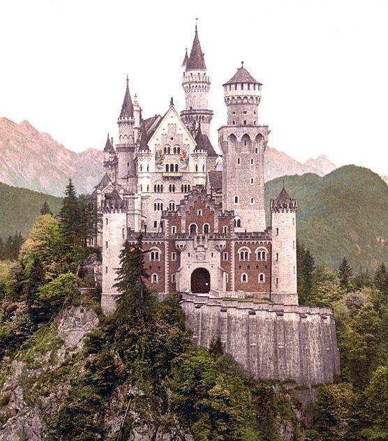 Neuschwanstein Castle Cropped frm PC