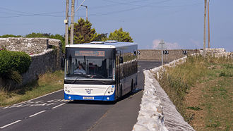 NAT Group - MAN Lion's City in Southerndown in July 2014