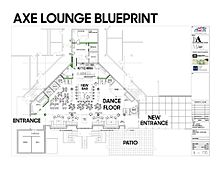 Acadia students union wikipedia a blueprint of proposed renovations to the axe lounge malvernweather Choice Image