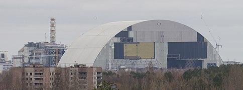 Chernobyl New Safe Confinement Wikipedia