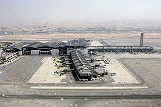 Muscat International Airport - The new terminal under construction as of August 2017