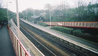 New Pudsey railway station Railway station in West Yorkshire, England