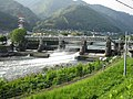 Nezame power station Kisogawa Weir.jpg