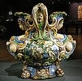 Ngv, maiolica di urbino, bottega di fontana, vaso di dafne e apollo, di salmace e ermafrodito, 1565 circa 01.JPG