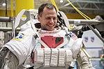 Nick Hague during spacewalk training at Neutral Buoyancy Lab.jpg