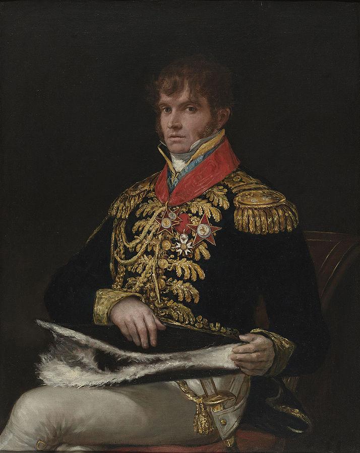 Portrait du général Nicolas Philippe Guye