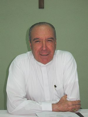 People of the Dominican Republic - Cardinal Nicolás López Rodríguez is the Archbishop of Santo Domingo.