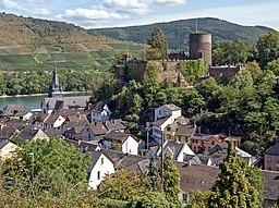 Niederheimbach mit der Heimburg