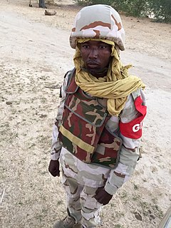 National Guard of Niger paramilitary branch of Nigers military