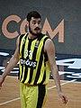 Nikola Kalinic (basketball) 33 Fenerbahçe Men's Basketball 20180209.jpg