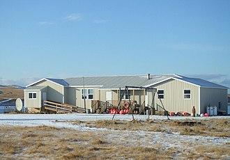 Aleutian Region School District - Nikolski School, now closed