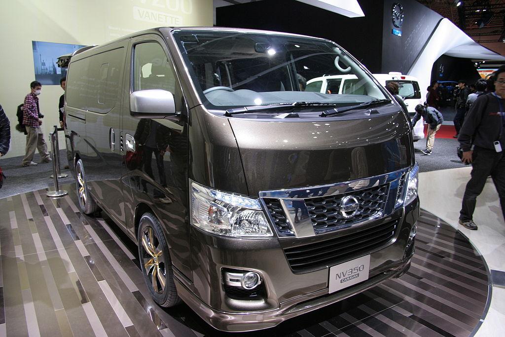 File Nissan Nv350 Caravan Jpg Wikimedia Commons