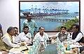 Nitin Gadkari, the Union Minister for Agriculture, Shri Radha Mohan Singh, the Union Minister for Consumer Affairs, Food and Public Distribution, Shri Ramvilas Paswan.jpg