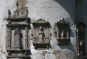 Niwnice Bartnik Kościół Św. Jadwigi Zespół epitafiów 10.JPG