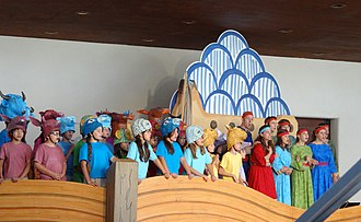 Noye's Fludde - Noye's Fludde: special performance in a rehearsal hall at the Santa Fe Opera, 11 August 2013