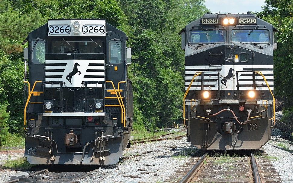 Norfolk Southern locomotives