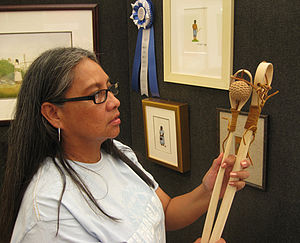 Choctaw Nation of Oklahoma - Award-winning painter Norma Howard is enrolled in the Choctaw Nation of Oklahoma.