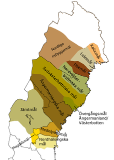 Norrland dialects group of dialects of northern Sweden