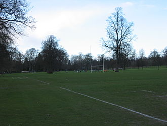 Perthshire RFC - The pitches on the North Inch