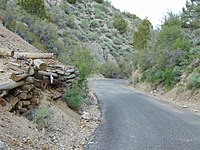 Northeast on Dividend Road (about mm 2.4) in Dividend, Utah, May 16.jpg