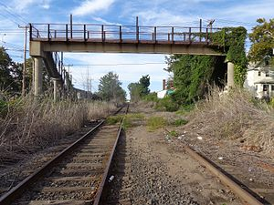 Fairview, Bergen County, New Jersey - Northern Branch Railroad