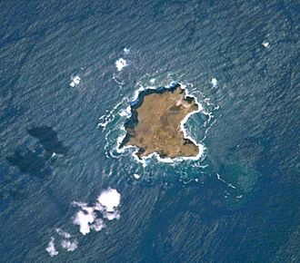 Savage Islands - Aerial photograph of the Northeastern Group, that includes Selvagem Grande