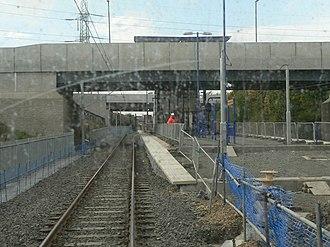 Northumberland Park Metro station - Northumberland Park Metro station