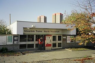 North Woolwich railway station railway station