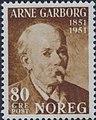 Norwegian stamp NK406 Garborg.jpg