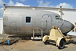 Nose of Douglas DC6B(F) (N841TA) (26416184258).jpg